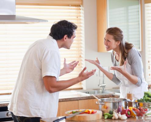 domowe kłótnie